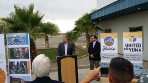 Mayor Douglas Nicholls welcomed Schwiekert